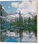 Sierra Wood Print