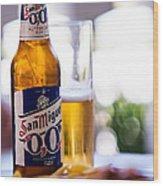 Siesta Time I. Beer Sun Miguel Wood Print