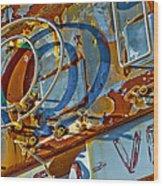 Signage.8247 Wood Print