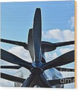 Sikorsky X2 Demonstrator Model Wood Print