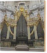 Silbermann Organ Wood Print