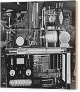 Silent Still: Laboratories Wood Print