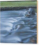 Silky Stream 2 Wood Print