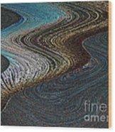 Silver Bay Wood Print