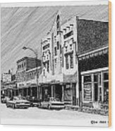 Silver City New Mexico Wood Print