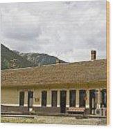 Silverton Depot Wood Print