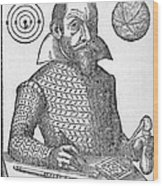 Simon Marius, German Astronomer Wood Print by Middle Temple Library