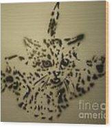 Simple Cat Wood Print