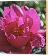 Simple Rose Wood Print