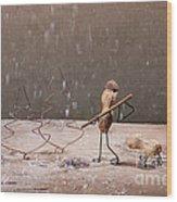 Simple Things - Christmas 04 Wood Print