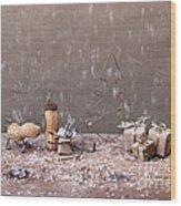 Simple Things - Christmas 07 Wood Print