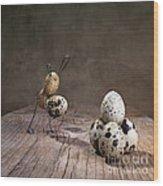 Simple Things Easter 07 Wood Print