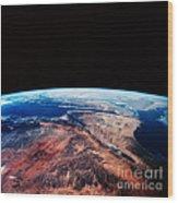 Sinai Peninsula Wood Print