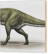 Sinraptor Dongi, A Prehistoric Era Wood Print