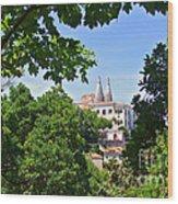 Sintra National Palace Wood Print by Carlos Caetano