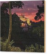 Sintra Palace Wood Print