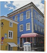 Sintra Portugal Buildings Wood Print