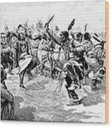 Sioux Ghost Dance, 1890 Wood Print