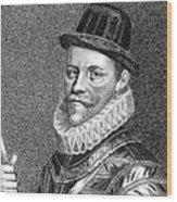 Sir John Hawkins (1532-1595) Wood Print