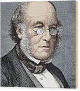 Sir Rowland Hill, Postal Reformer Wood Print by Sheila Terry