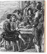 Sir Walter Raleigh Wood Print