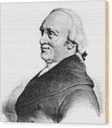 Sir William Herschel, British Astronomer Wood Print by
