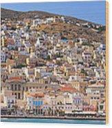 Siros Greece 2  Wood Print