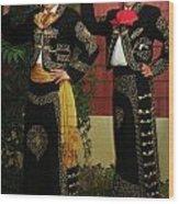 Sisters - In Full Regalia Wood Print
