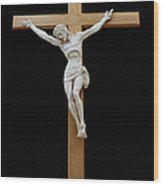 Sjncc Crucifix 1 Two K Eleven Wood Print