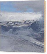 Skaftafell Panorama Wood Print