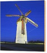 Skerries Windmill, Co Dublin, Ireland Wood Print