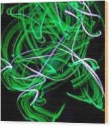 Skrillen The Mood 1 Wood Print by Cyryn Fyrcyd