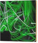 Skrillen The Mood 2 Wood Print by Cyryn Fyrcyd