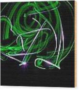 Skrillen The Mood 3 Wood Print by Cyryn Fyrcyd