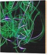 Skrillen The Mood 4 Wood Print by Cyryn Fyrcyd
