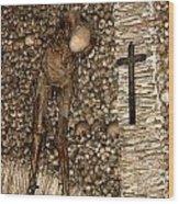 Skull Church Wood Print