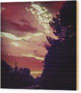 #sky 🌅 Wood Print