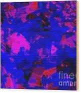 Sky Abstract  Wood Print