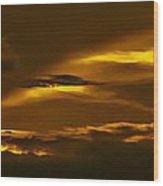 Sky Of Golden Fleece Wood Print