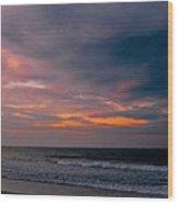 Sky Of Pastels Wood Print