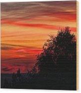 Sky Palette Wood Print