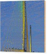 Skyway Crossing Wood Print by David Lee Thompson