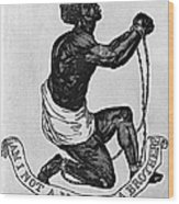 Slavery: Abolition, 1835 Wood Print