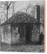 Slavery, Original Title Relics Wood Print by Everett