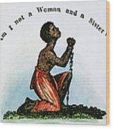 Slavery: Woman, 1832 Wood Print