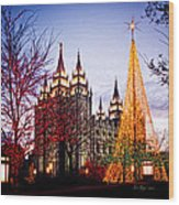Slc Temple Tree Light Wood Print