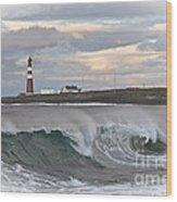 Slettnes Beacon  Wood Print