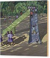 Slide Mysore Wood Print