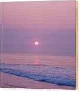 Slither Sun Wood Print