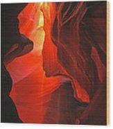 Slot Canyons - 502 Wood Print